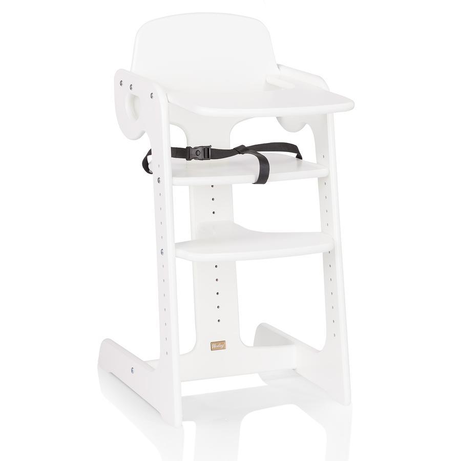 HERLAG Chaise-haute Tipp Topp IV, hêtre, blanc