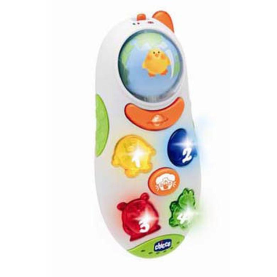 CHICCO Téléphone portable Globetrotter bilingue