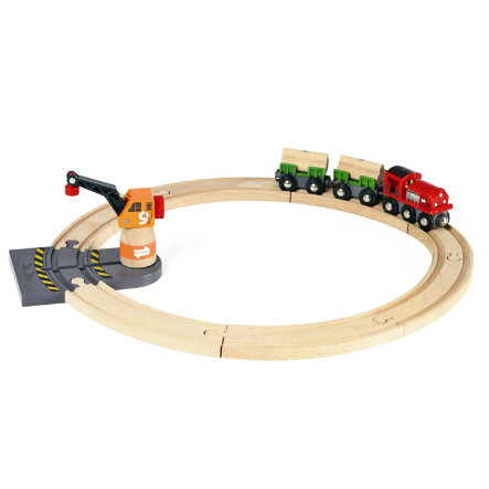 BRIO Circuit transport de bois
