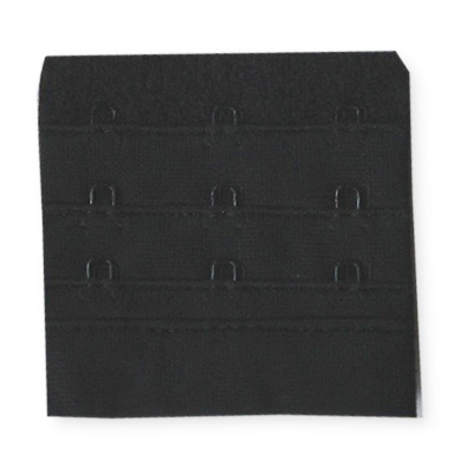NATURANA BH Rückenverschluß Verlängerung schwarz 6,5 cm