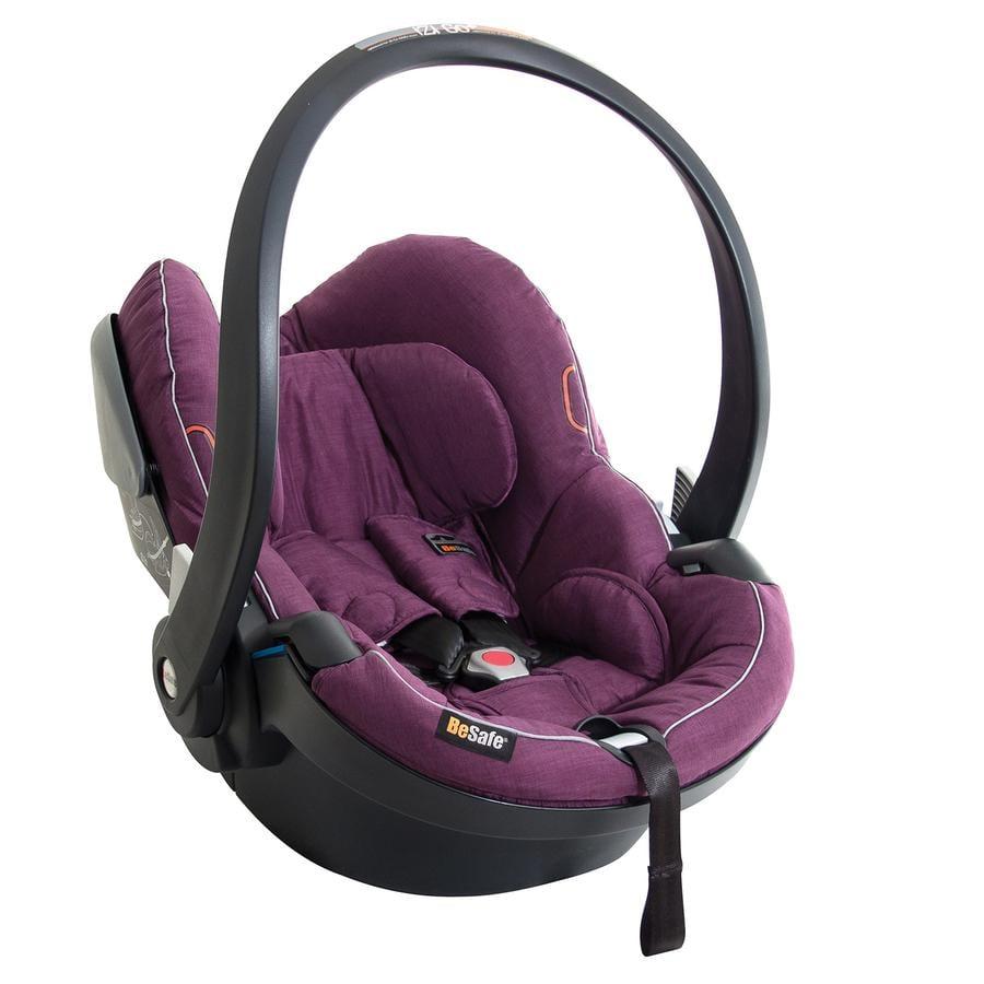 BeSafe Babyschale iZi Go X1 Selection Voksi-Edition Plum