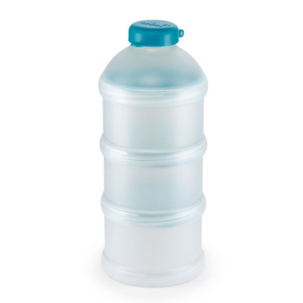 NUK Milchpulver-Portionierer petrol 3 Stück BPA-frei
