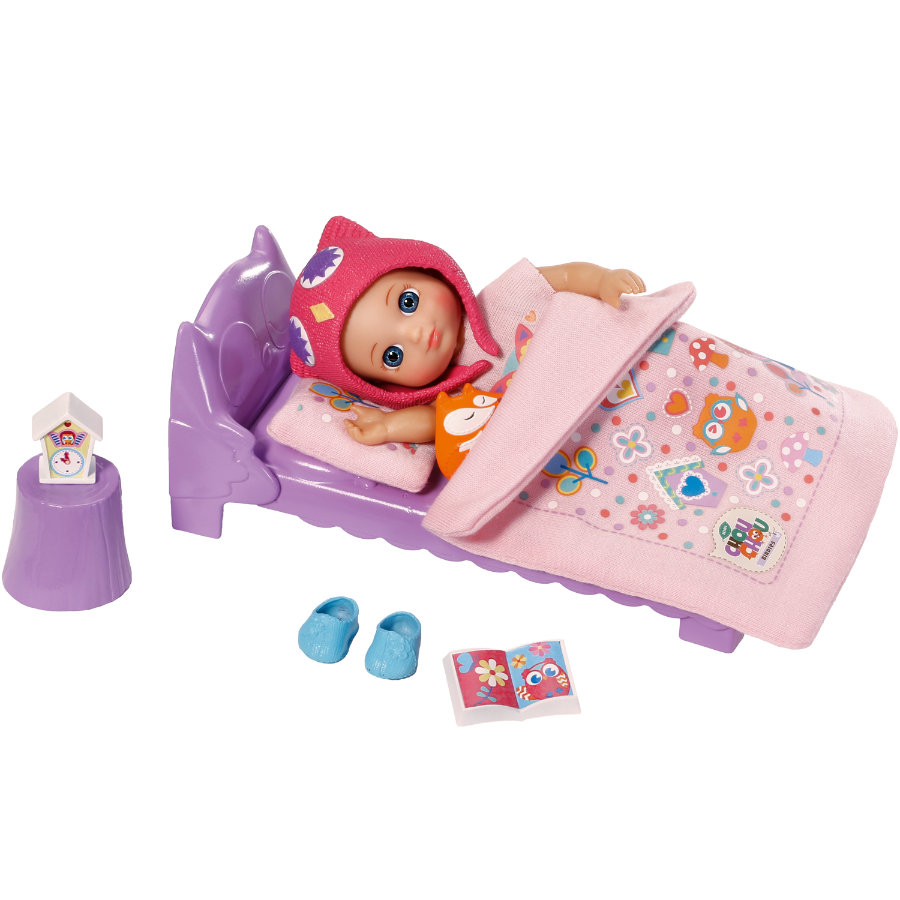 Zapf Creation mini CHOU CHOU - Bett-Set