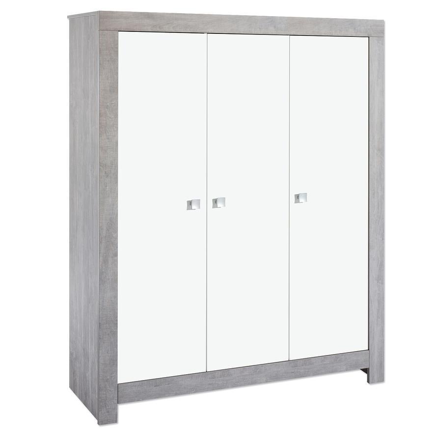 SCHARDT Armoire 3 portes Nordic Driftwood