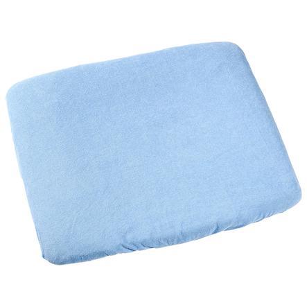 ODENWÄLDER Frottee Wickelauflagenbezug 75x85cm blau