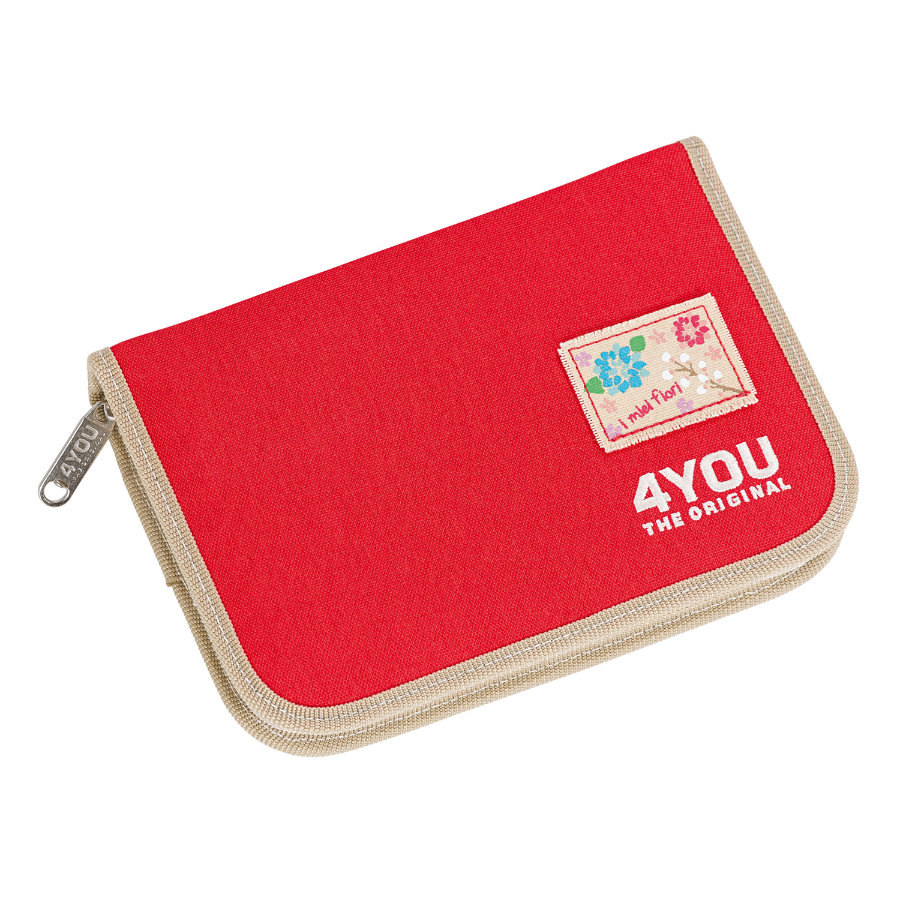 4YOU Flash XL Pencil Case, unfilled Just Red 236-44