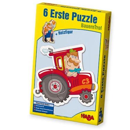 HABA 6 premiers puzzles - La ferme