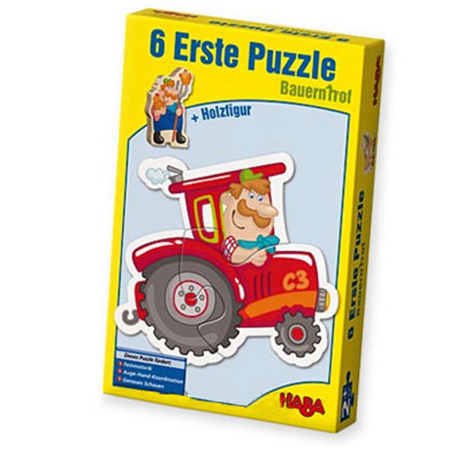 HABA Little Hand Puzzles - Farm 3900