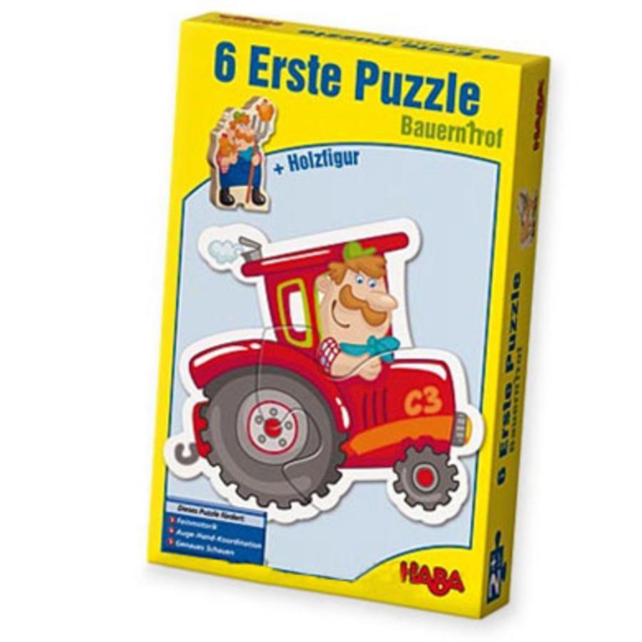 HABA Pierwsze puzzle Farma