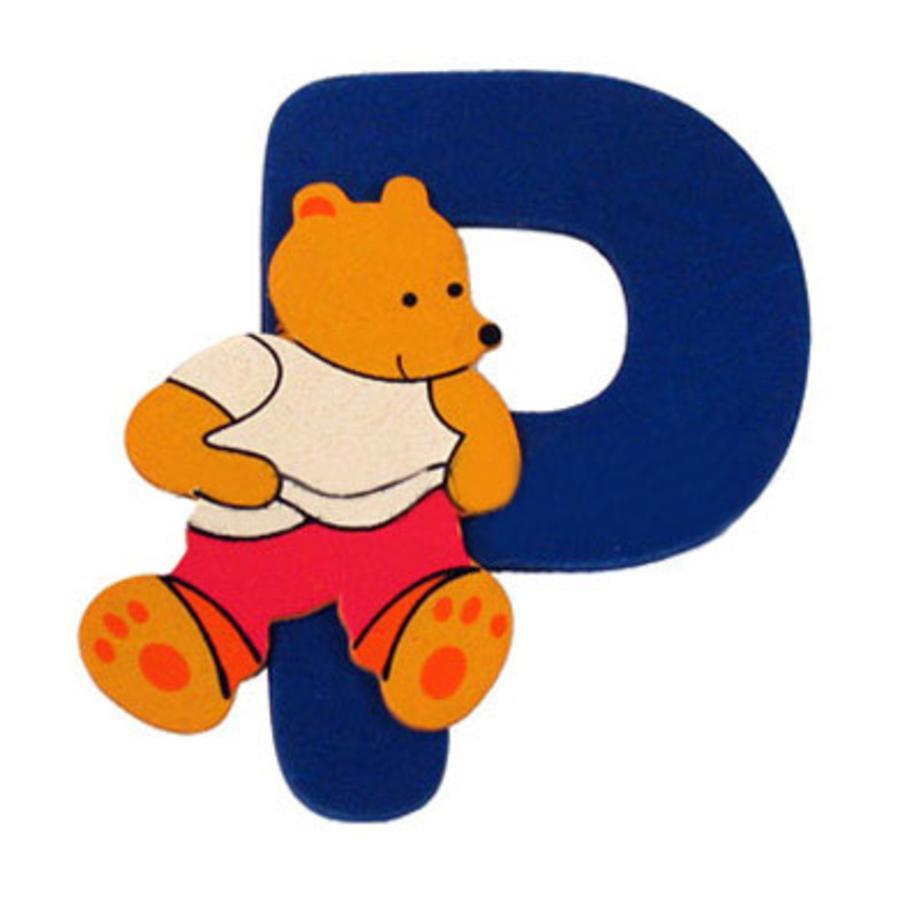 """BIECO Medvědí písmenko """"P"""""""