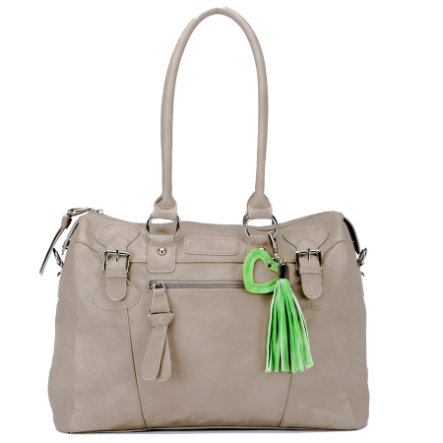 LITTLE COMPANY Wickeltasche Sophisticated Bag taupe