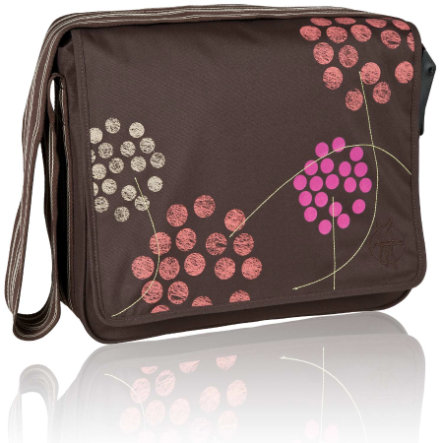 LÄSSIG  Přebalovací taška, Casual Messenger Bag Barberry choco