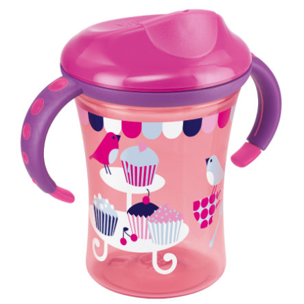 NUK Easy Learning Trainer Cup Harde Drinkrand 250ml rood