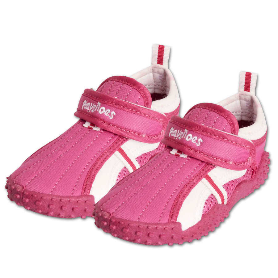 PLAYSHOES Chaussures de bain protection UV 50+ rose sportive