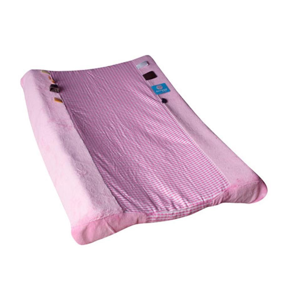 SNOOZE BABY - Överdrag för skötbädd Happy Dressing  Elephant Pink