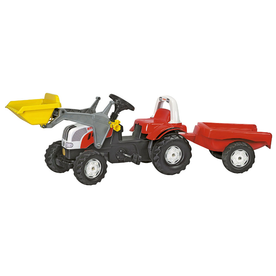 rolly®toys rollykid Steyr 6190 CVT mit Lader und Anhänger