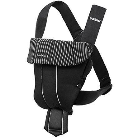 BABYBJÖRN BABY CARRIER ORIGINAL Classic Black Pinstripes