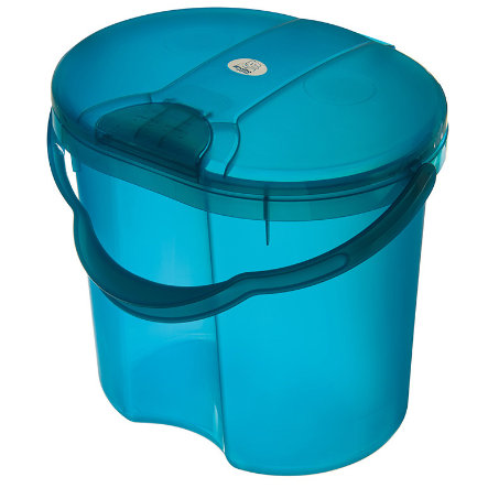 ROTHO Cestino per pannolini TOP  - Traslucido Blu