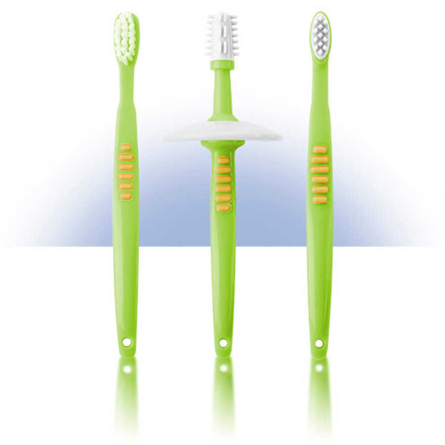 Sada pro naučení se čistit zuby REER s bezpečnostním talířkem (7903)