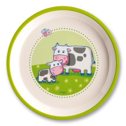 HABA Melamin plate On the Farm