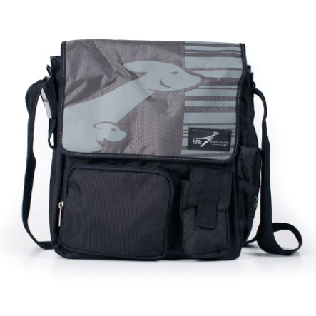 TFK Nappy Bag Lässig Design Gray