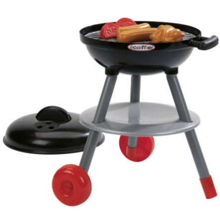Ecoiffier Barbeque Grill, nero