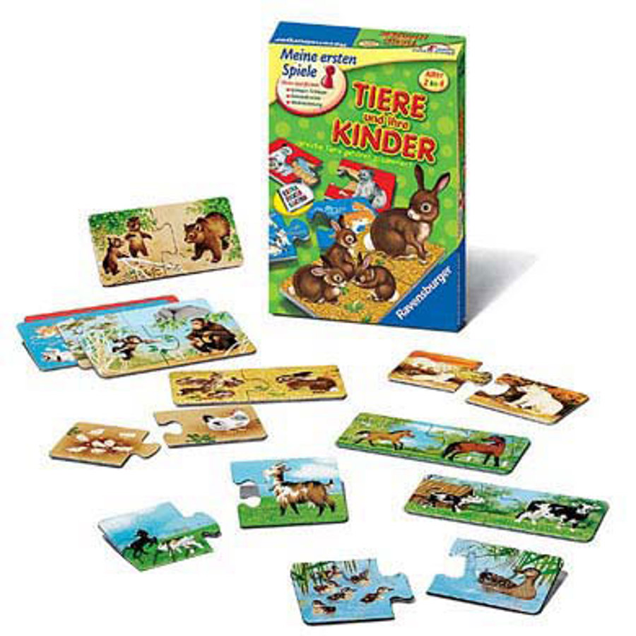 RAVENSBURGER Animals and their Children