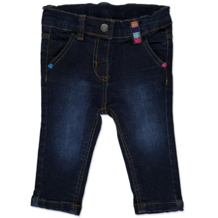PEBBLE STONE Girls Mini Jeanshose dark blue