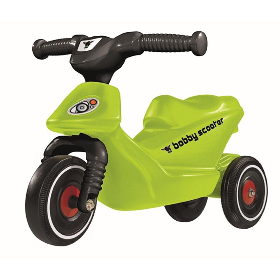 BIG Bobby Scooter Nero-Verde 56815