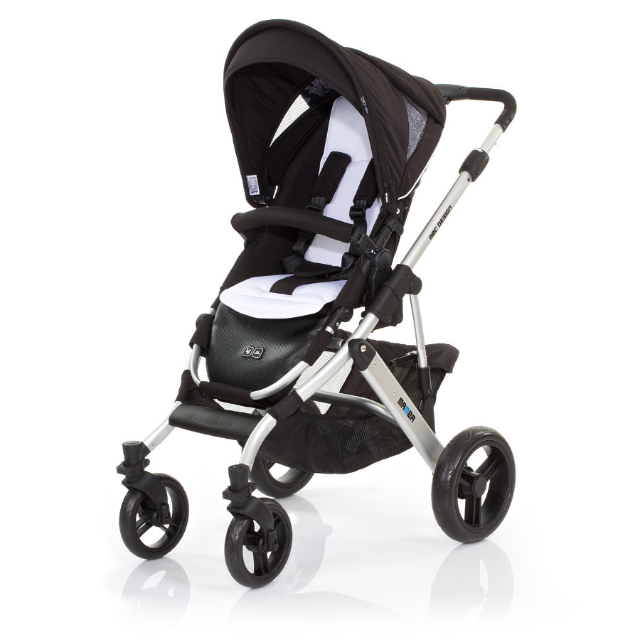 ABC DESIGN Combi Stroller Mamba phantom Frame silver / black Collection 2015