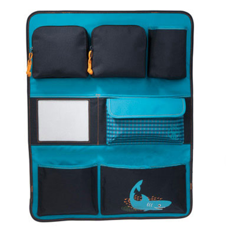 LÄSSIG Carseat Wrap to Go Shark ocean