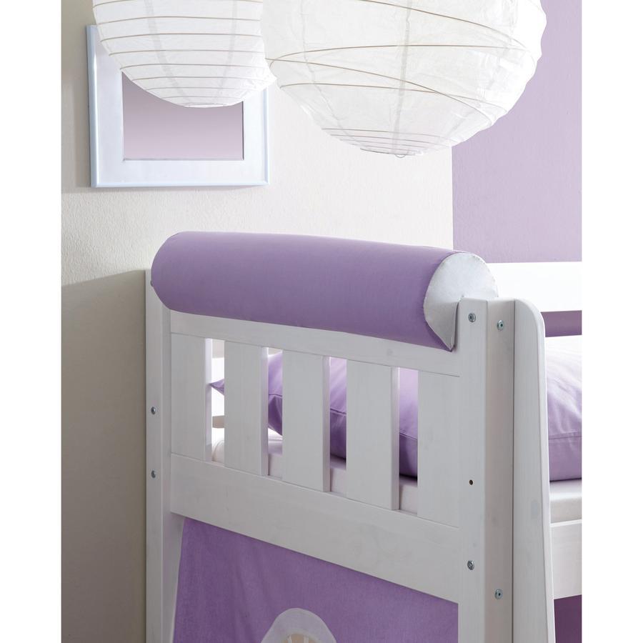 TICAA Wałek/podłówek do łóżka kolor fioletowo-biały