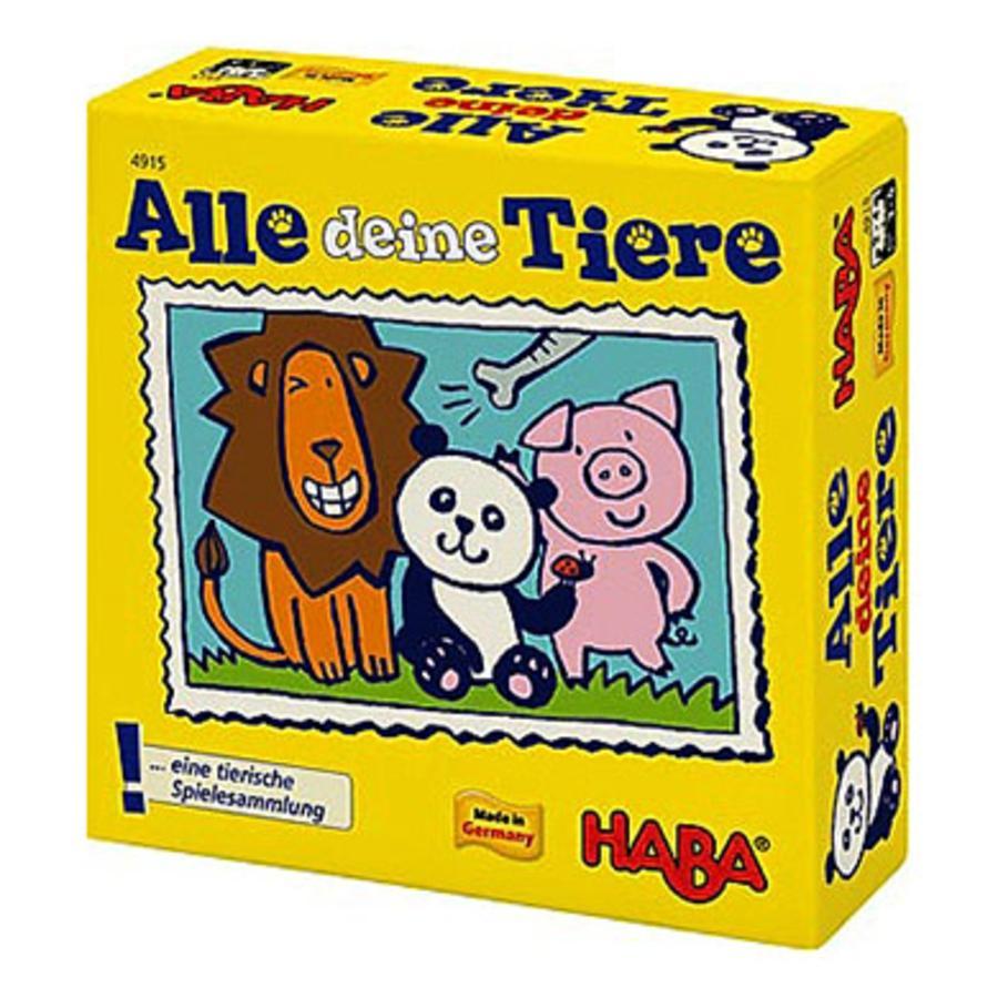 """HABA Hra Supermini """"všechna tvá zvířata"""" 4915"""