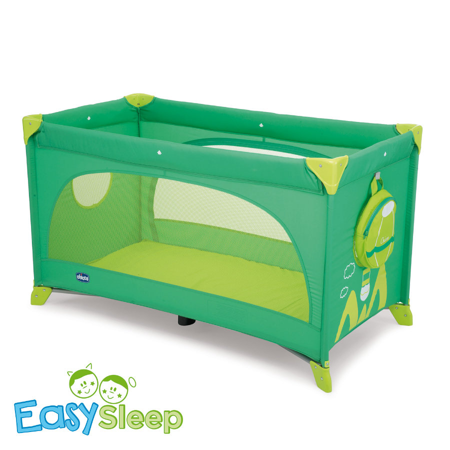 CHICCO Travel Cot EASY SLEEP GREEN JAM Collection 2015