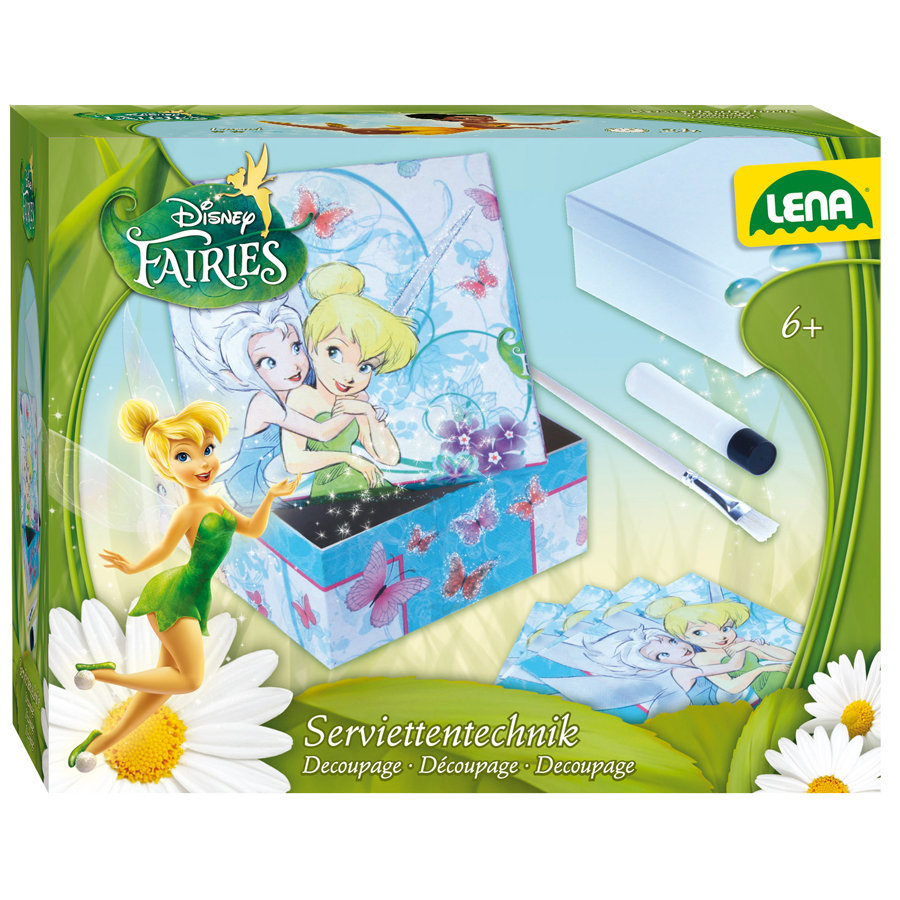 LENA Disney Fairies - Découpage de serviettes