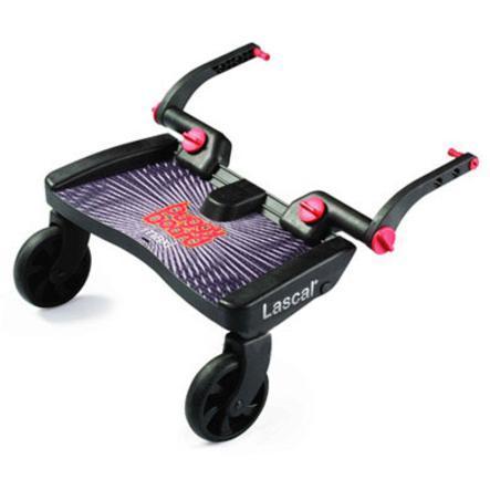 LASCAL Planche à roulettes pour poussette Buggy Board Maxi, noir