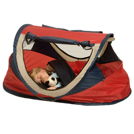 Deryan Travel Bed / Travel Cot Peuter Tent Red