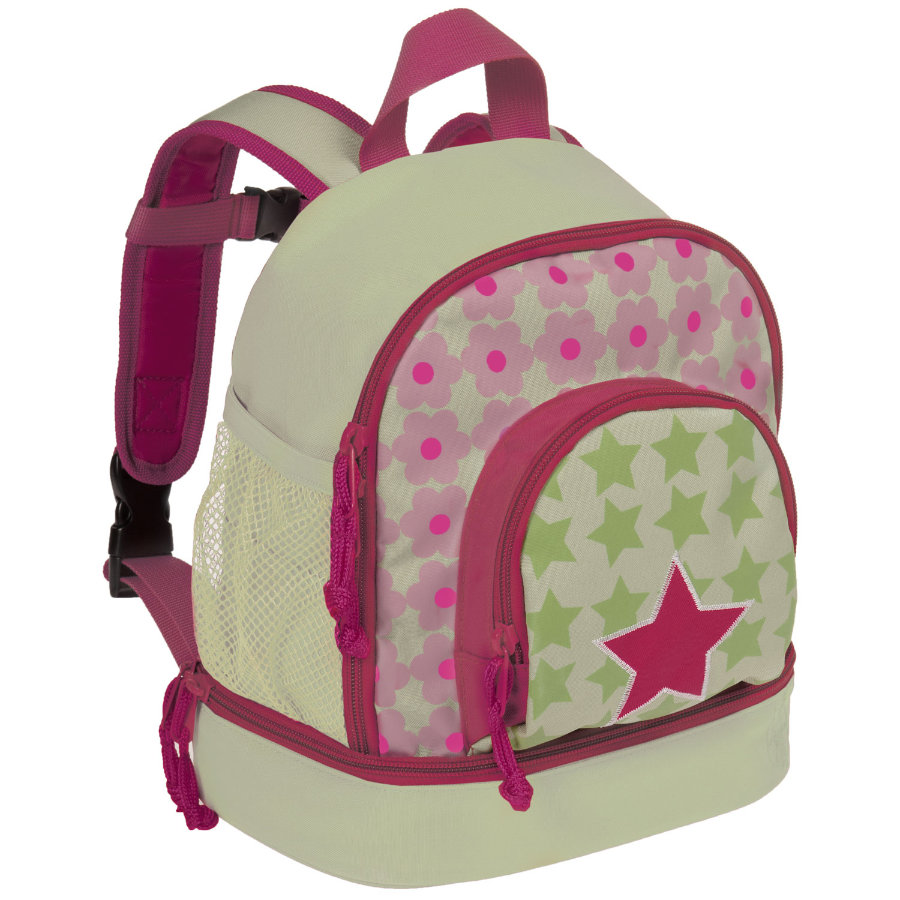 LÄSSIG Mini Ryggsäck Backpack Starlight Magenta
