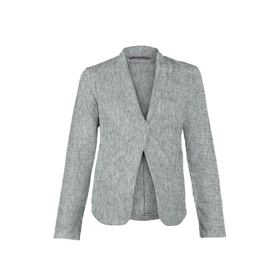 QUEEN MUM Umstands Sweat Blazer OLGA grey