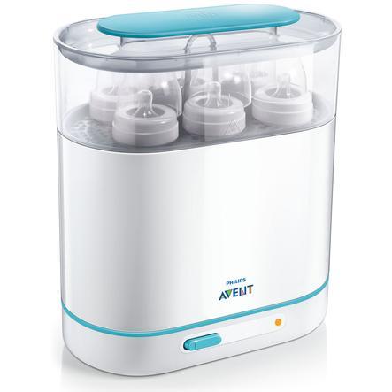 AVENT Stérilisateur électrique à vapeur 3 en 1  SCF285/02 Sans BPA