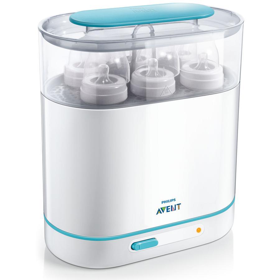 AVENT 3-in-1 Esterilizador eléctrico SCF285/02 sin BPA