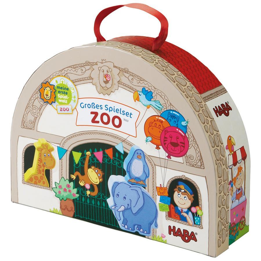 HABA Großes Spielset Im Zoo 7633