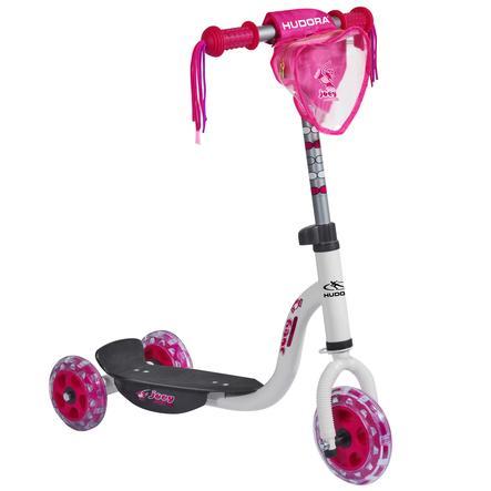 HUDORA Kiddyscooter joey Pinky 3.0, weiß/pink 11060