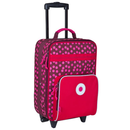 LÄSSIG Reisekoffer Kinder Trolley Dottie red