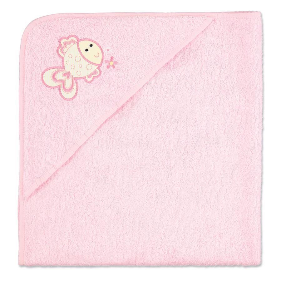 pink or blue Ručník s kapucí, růžový