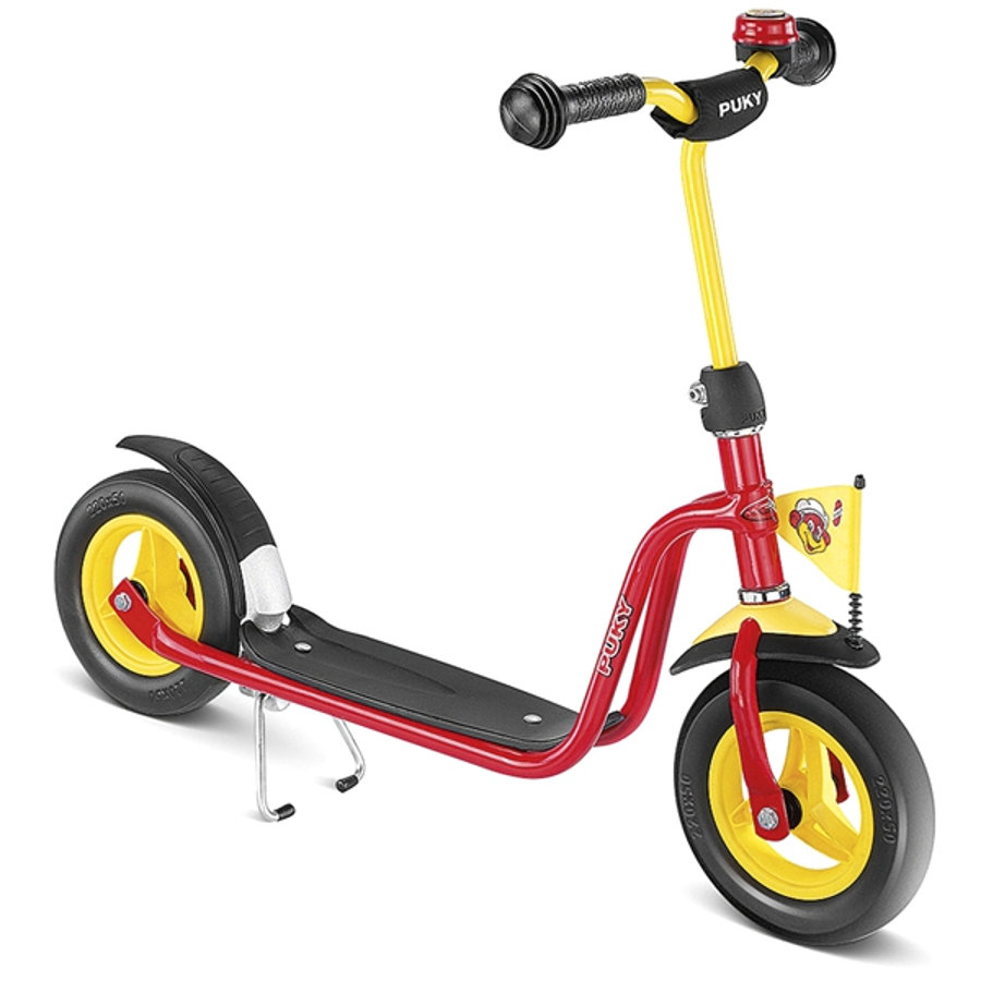 PUKY Scooter R03 with foam tyres, red 5143