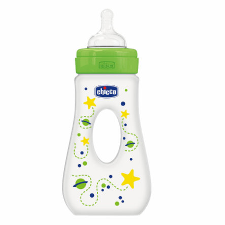 CHICCO Butelka Silikon 240 ml, 4m+, Neutral