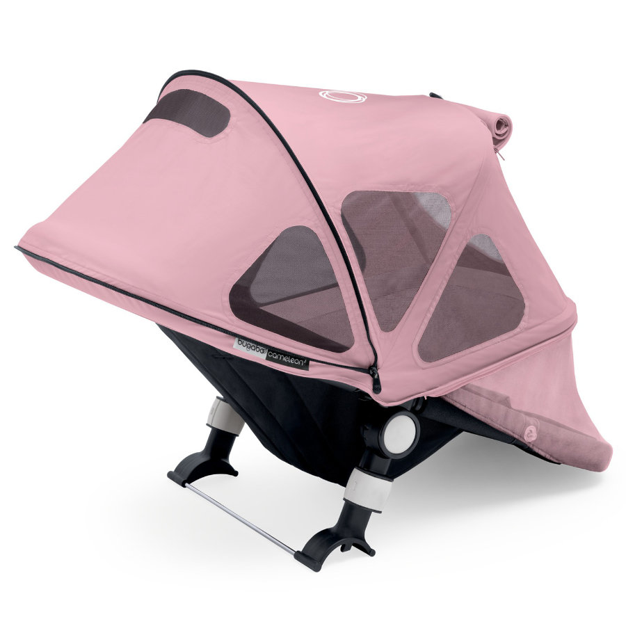 bugaboo Donkey Zonnekap met luchtvensters Soft Pink