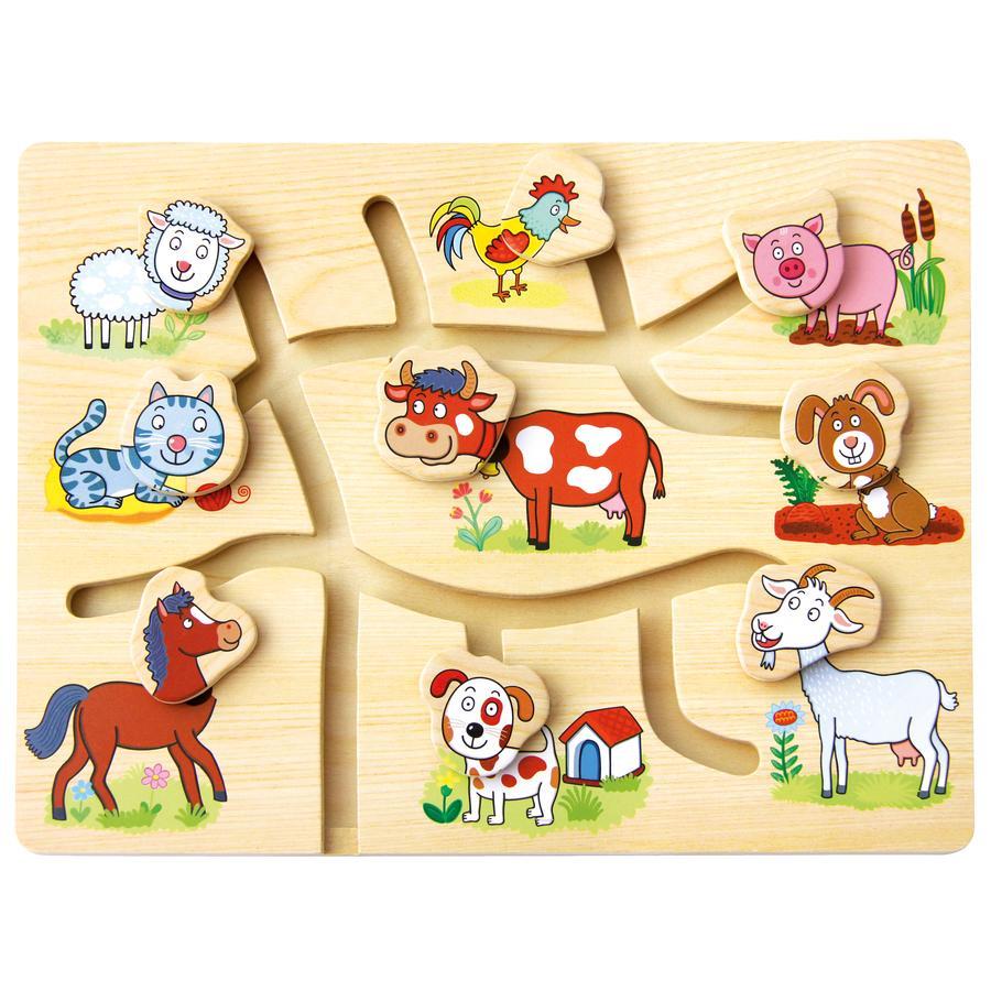 BINO motorik legetøj bondegård