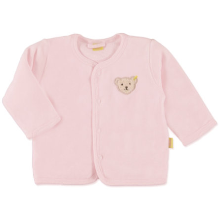 STEIFF Girls Baby Nicki Jäckchen barely pink